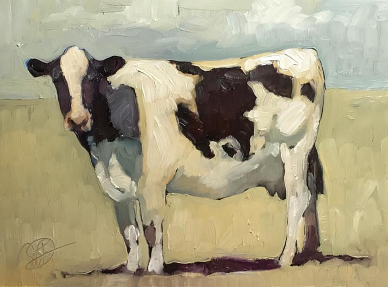 Neighbor's Cow SOLD